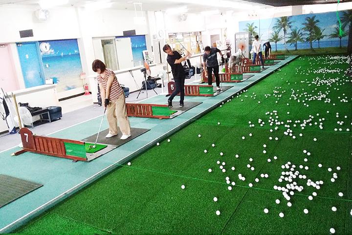 インドアゴルフスクール ゴルフレンジ