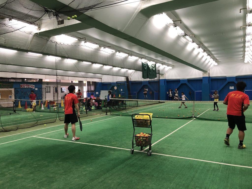 テニススクールイベント報告「松原インドアスクールフェス
