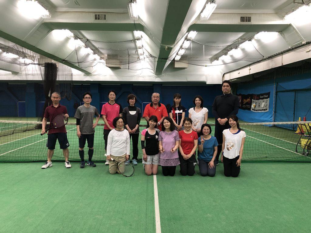 テニススクールイベント報告「Dr渡貫テニス悩み相談室 5/1