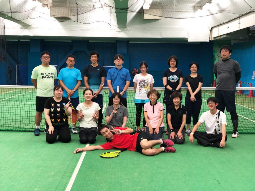 埼玉県草加市の東武松原テニススクール レッスンイベント 1Dayキャンプ in 松原