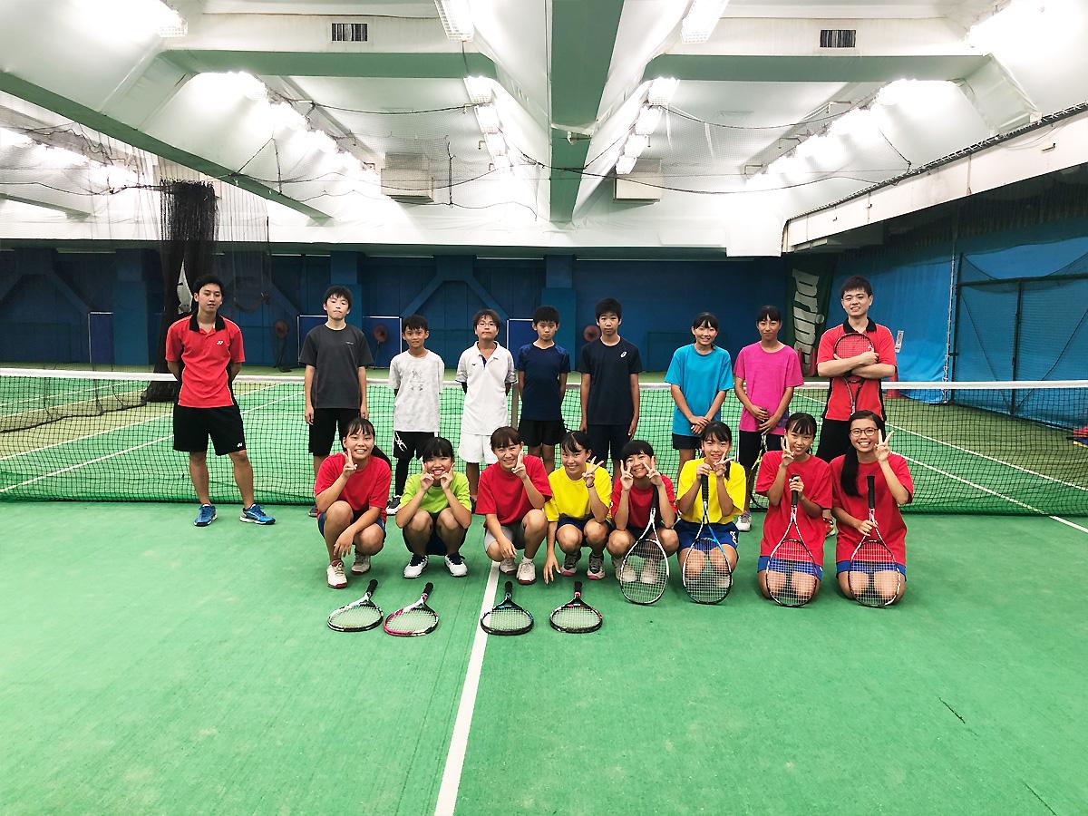 埼玉県草加市の東武松原インドアテニススクール テニスイベント ソフトテニスフレンドリーレッスン
