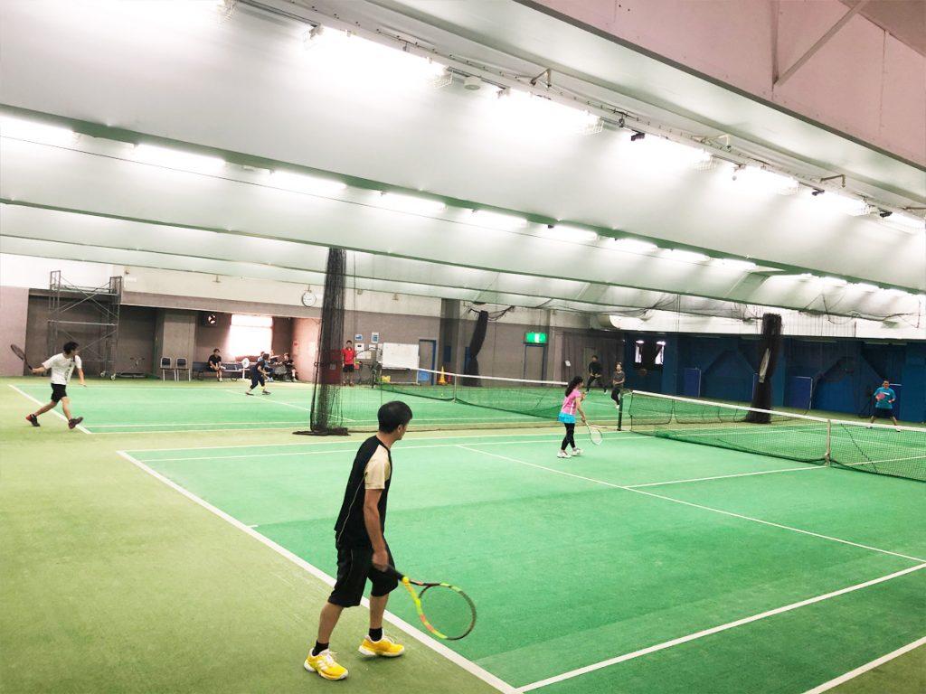 埼玉県草加市の東武松原インドアテニススクール レッスンイベント 1Dayキャンプ in 松原