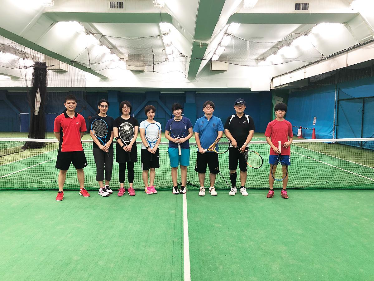 埼玉県草加市の東武松原インドアテニススクール テニスイベント 初級・基礎限定 とことんストロークレッスン