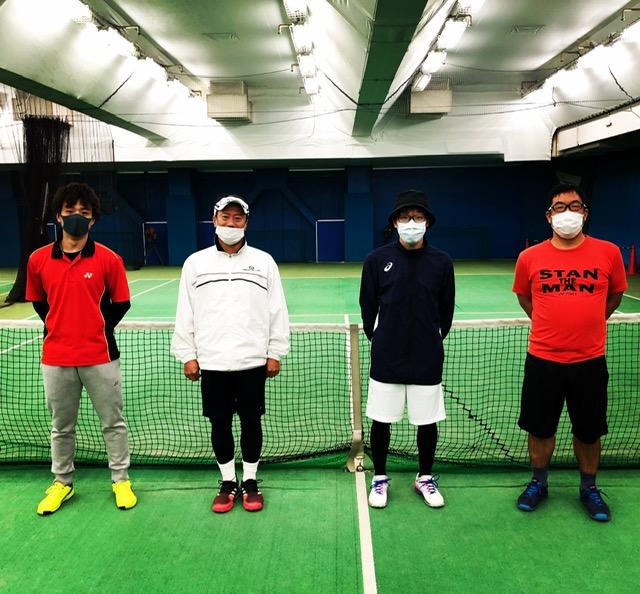 テニススクール男子シングルス「鉄人トーナメント」報告