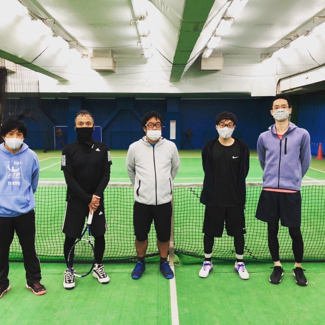 テニススクールイベント 男子シングルス「鉄人トーナメント」報告